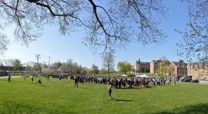 More than 1,200 students came out Saturday for the Big Event.