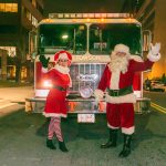 Santa & Mrs. Claus visit Towson