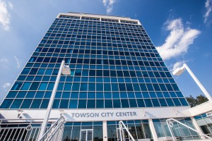 Towson City Center Building Exterior View