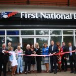 First National Bank Ribbon Cutting