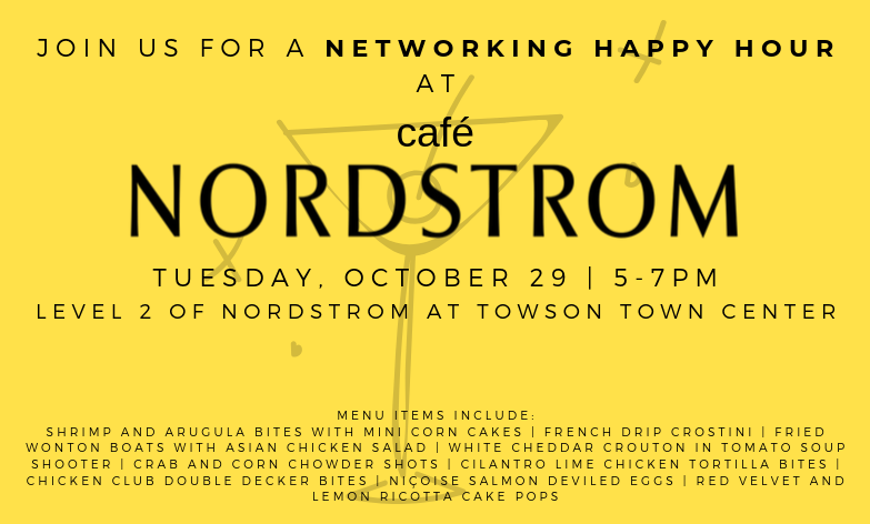join us for a networking happy hour at